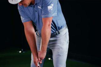 Professional Golfer Bryson DeChambeau Practices His Putting