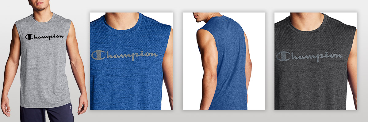 Champion Men's Classic Jersey Muscle Tank