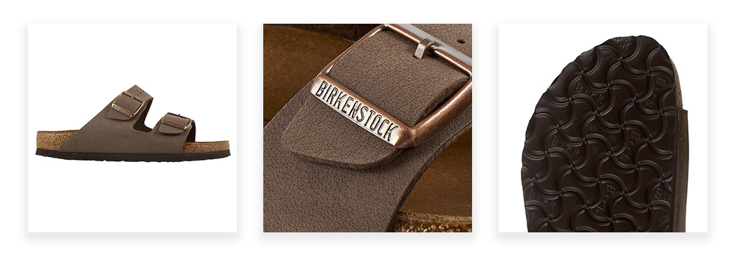 Birkenstock Women's Arizona Birkibuc Sandals