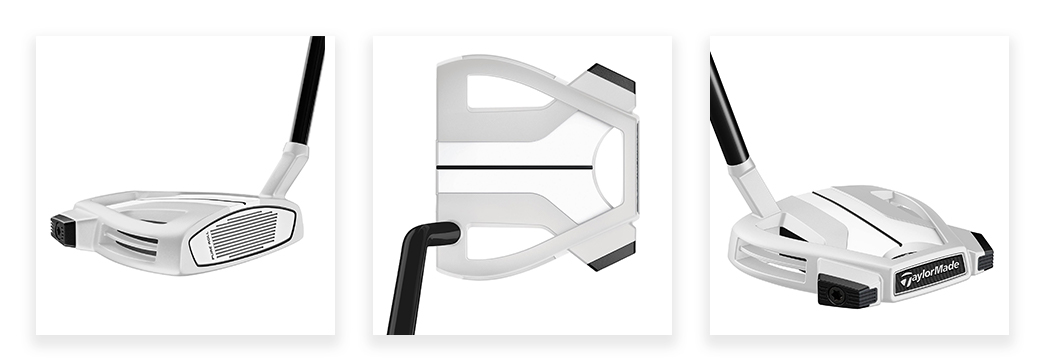 TaylorMade Spider X #3 Chalk Putter with True Path