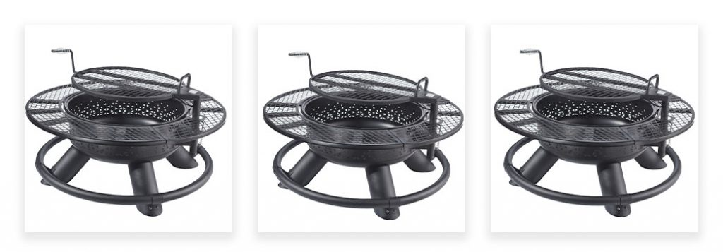 Field and Stream Fire Pit Tier 2