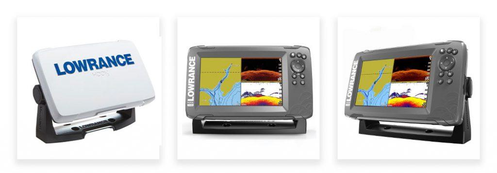 Lowrance Hook2-7 SplitShot GPS Fish Finder
