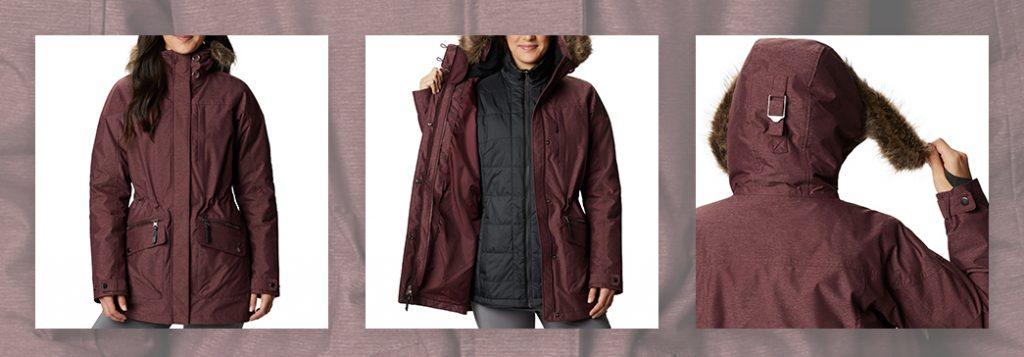 Columbia Women's Carson Pass 3-in-1 Interchange Jacket