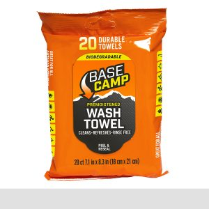 Dead Down Wind Base Camp Biodegradable Wash Towel 20-Ct.