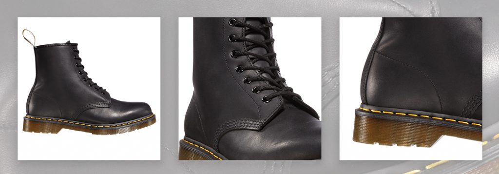Dr. Martens Men's 1460 Greasy Leather Lace Up Boots
