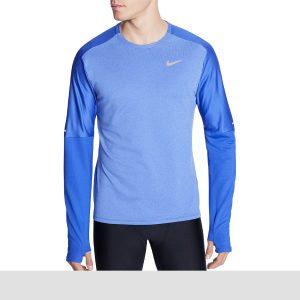 Nike Men's Element Running Crew Long Sleeve Shirt