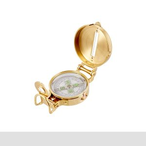Field & Stream Brass Compass