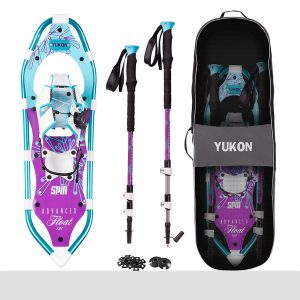 Yukon Charlie's Women's Advanced Spin Float Snowshoe Kit