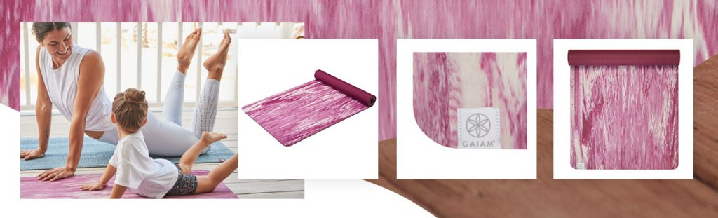 Giam Studio Select Ultra-Firm Marbled Yoga Mat