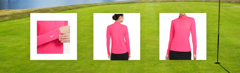 Nike Women's Dri-FIT UV Victory Long Sleeve Golf Top