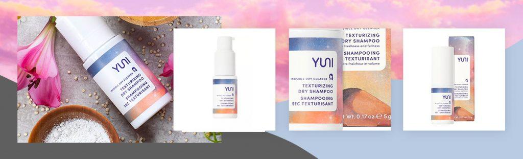 YUNI Beauty Invisible Dry Cleaner Texturizing Dry Shampoo
