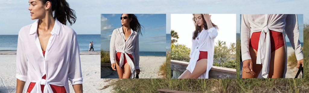 CALIA by Carrie Underwood Women's Long Sleeve Beach Coverup