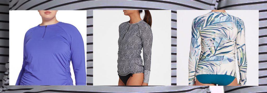 CALIA by Carrie Underwood Women's Zip Long Sleeve Rashguard
