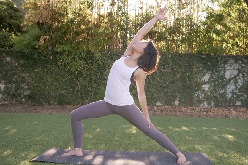 Nike yoga trainer Natalie Asatryan